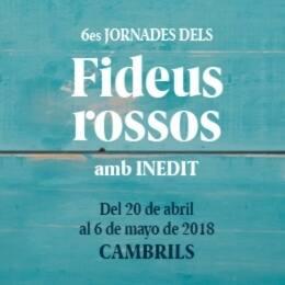 Fideus Rossos Cambrils 2018