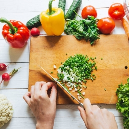 12 formas de cortar vegetales como un profesional