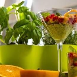 Tartar de frutas