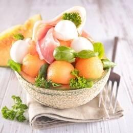 Recetas originales de melón con jamón