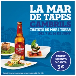Mar de tapes Cambrils 2019