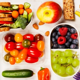 Cinco snacks naturales para ir de excursión