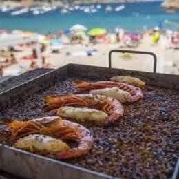 paella, verano, arroces, restaurantes, paellas en Barcelona, las mejores paelllas
