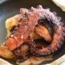 Pulpo con papada y patata macaria