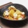 Patatas bravas con salsa chipotle