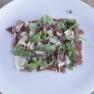 receta, Restaurante Sabors, carpaccio