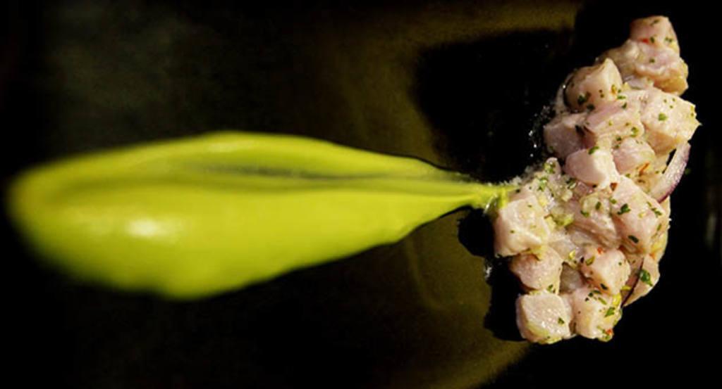 Ceviche receta Uvedoble
